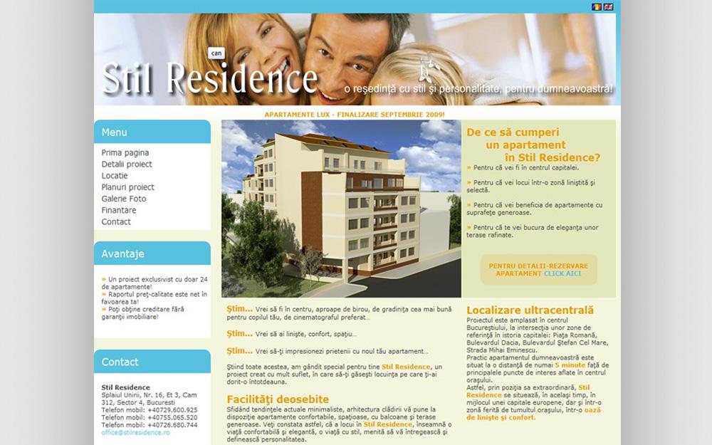 portofoliu stil residence